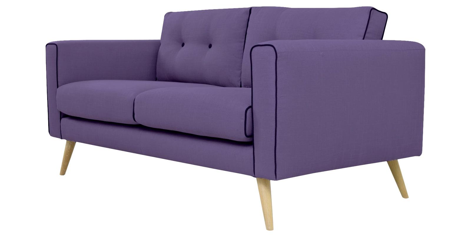 Modernize Two Seater Sofa In Light Purple Colour Dreamzz
