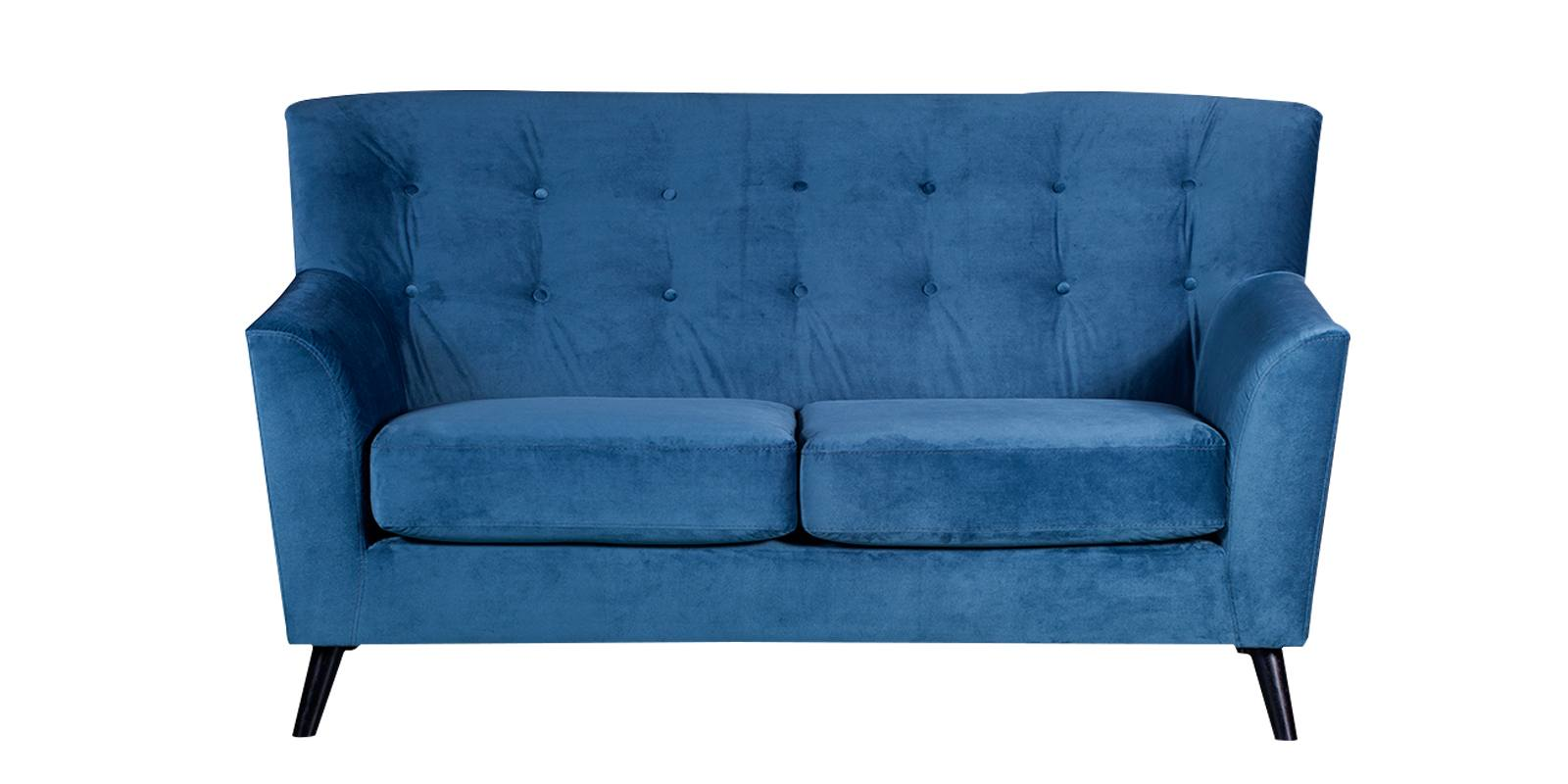 Arian Two Seater Sofa In Blue Colour | Dreamzz Furniture ...