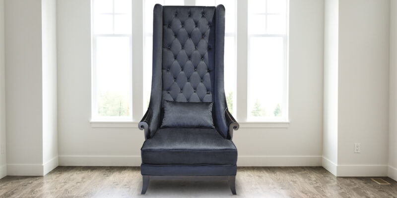 Versatile Comfy Effect High Back Chair In Black Colour