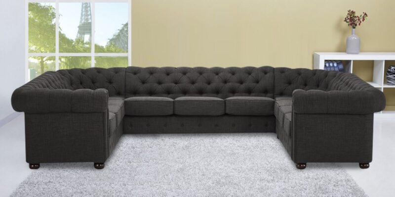 Maharaja Style U Shape Sitting sectional sofa