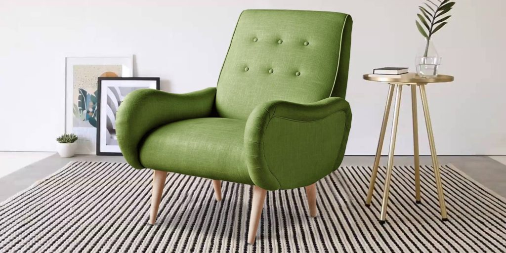 Kaizer Marvellous Chair In Green Colour