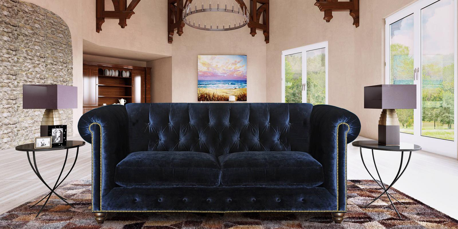 Three Seater Chesterfield Sofa